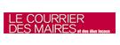 Logo Le courrier des maires