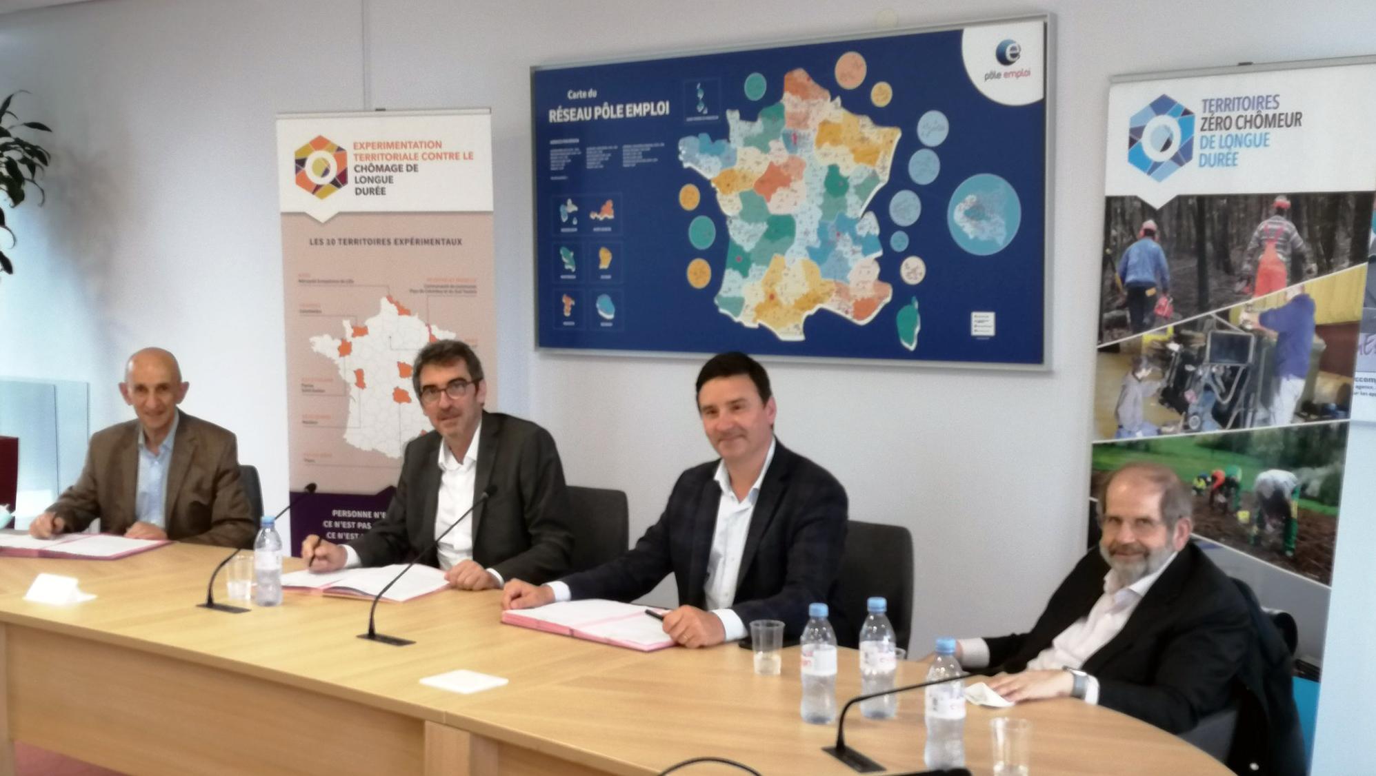 Signature partenariat TZCLD-ETCLD-Pôle emploi